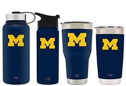 Simple Modern 18oz Summit Water Bottle - Michigan Wolverines