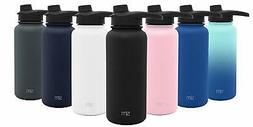 Simple Modern Summit Water Bottle with Chug Lid - Wide Mouth