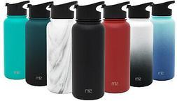 Simple Modern Summit Water Bottle with Flip Lid & Steel Lid