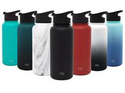Simple Modern Summit Water Bottle with Straw Lid - Wide Mout
