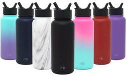 Simple Modern Summit Water Bottle  Straw Lid Wide Mouth Vacu