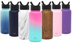 Simple Modern 14 Ounce Summit Water Bottle with Straw Lid -