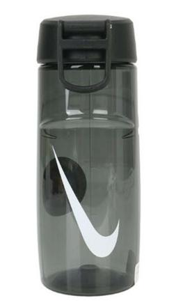 Nike Swoosh Water Bottle Sports Tumbler Black White Cycling