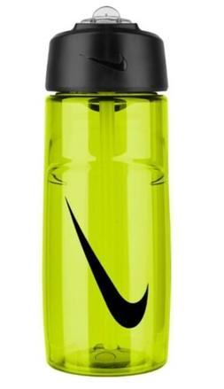 Nike Swoosh Water Bottle Sports Tumbler Lime Black Cycling 1