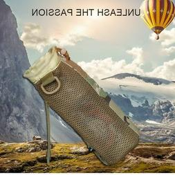 Tactical Military Molle Water Bottle Bag Kettle Pouch Bag Tr