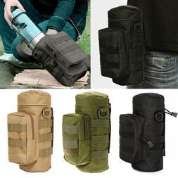 Men Women Water Bottle Carrier Holder Bag for Military Tacti