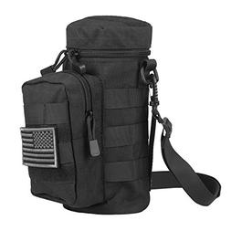 AMYIPO Tactical MOLLE Water Bottle Pouch Holder Storage Bag