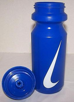 Nike Team Squirt 22oz Water Bottle.Blue with White Swoosh