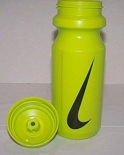 Nike 2 Team Squirt 22oz Water Bottles Neon.Green w/Black Swo
