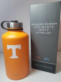 Tennessee 64oz Simple Modern Water Bottle Double wall 18/8 S