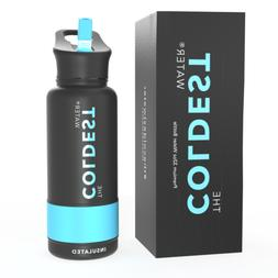 The Coldest Sports Water Bottle 32 oz Wide Mouth Insulated S