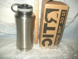 RTIC  Double Wall Vacuum Insulated Water Bottle, 32 oz, stai