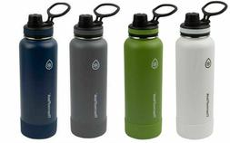 Thermo Flask Insulated Water Bottle with Protective Silicone