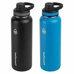 ThermoFlask Stainless Steel 40-Ounce Water Bottle , 2-Piece