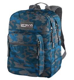 Trans by Jansport TM60 Supermax Backpack - FORGE GREY / BLUE
