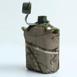 Traveling Army Military Canteen Hydration Water Bottle Outdo