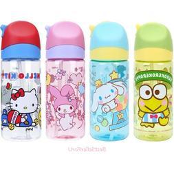 Sanrio Tritan BPA & BPS Free Straw Water Bottle Kids Flip-to