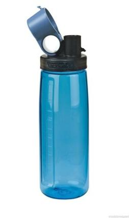 NALGENE Tritan OTG BPA-Free Water Bottle,Slate Blue, 24 Ounc