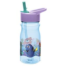 Zak! Designs Tritan Water Bottle with Flip-up Spout Featurin