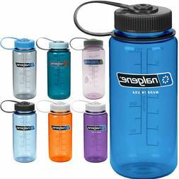 Nalgene Tritan Wide Mouth 16 oz. Water Bottle Sport Yoga Gym