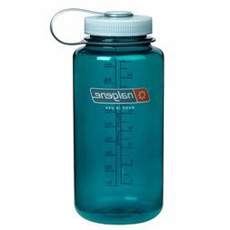 Nalgene Tritan Wide Mouth 32 oz. Water Bottle, Trout Green