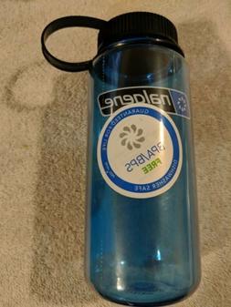 Nalgene Tritan Wide Mouth BPA-Free Water Bottle B16oz Slate