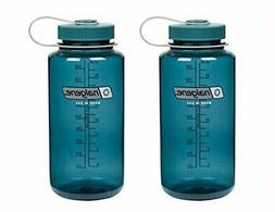 Nalgene Tritan Wide Mouth, Cadet with Matching Cap 32oz, Set