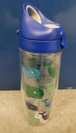Tervis Tumblers Whale Collage Water Bottle 24oz