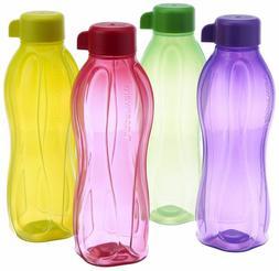 Tupperware 500 ML ECO Aquasafe Water bottles 16 oz- Set of 2