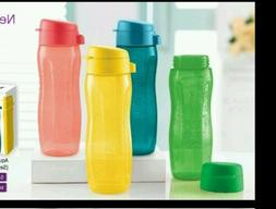 Tupperware 500ml Slim Flip Top Eco Water Bottle Set of 4 - N