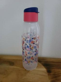 Tupperware ECO WATER BOTTLE Medium 25oz Spring Floral