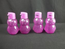 Tupperware Kids 12 Oz Eco Water Bottle Purple Penguin 9113 F