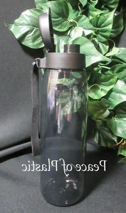Tupperware New ECO PLUS SPORT WATER BOTTLE Flip Top Cap w/ S