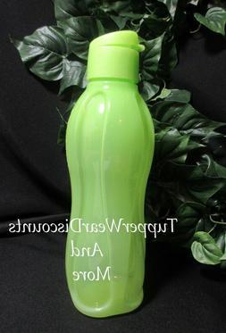 Tupperware New  Large 1 Liter Eco Water Bottle Tumbler Green
