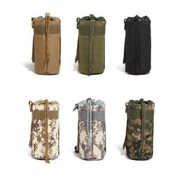 US Outdoor Hiking Tactical Military Water Bottle Bag Holder