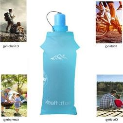 US Sports Bottle Water Bottles Outdoor Cup Portable Silicone