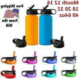 US Straw Lid /Cap for Hydro Flask Wide Mouth 12 16 18 20 32