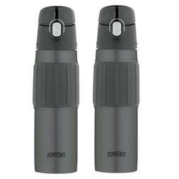 Thermos Vacuum Insulated 18 Oz Hydration Water Bottle  2PK