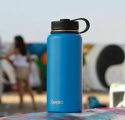Vacuum Insulated Stainless Steel Water Bottle,Wide Mouth 18/