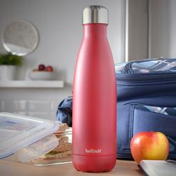 VonShef Vacuum Insulated Water Bottle Hot Cold 500ml Double