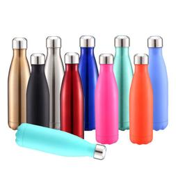 Vacuum Water Bottle Stainless Steel Flask Thermal Insulation