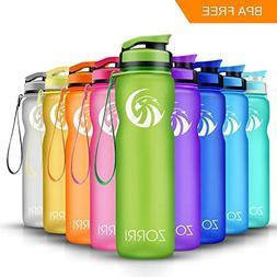 Sports Water Bottle 1L/ 1.2 Litre/ 600ml/ 800ml, Leak Proof