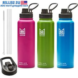 Water Bottle 40 oz Stainless Steel Insulated Double Wall com