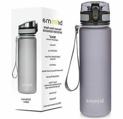Brimma Premium Sports Water Bottle with Leak Proof Flip Top