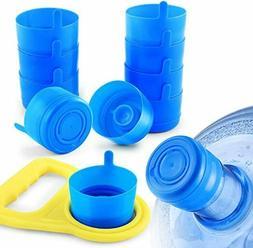 Water Bottle Caps Gallon Snap On Cap Reusable Lid Drinking P