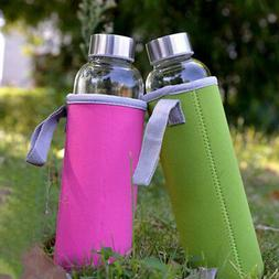 Water Bottle Cover Sport Insulated Bag Neoprene Pouch Holder