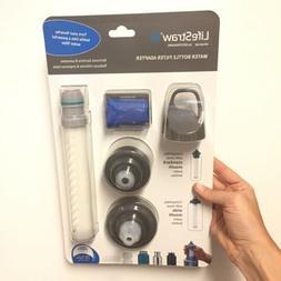LifeStraw Water Bottle Filter Adapter for Nalgene Camelbak H