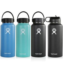 32oz Hydro-Flask Water Bottle Insulated Flex Cap Wide Mouth