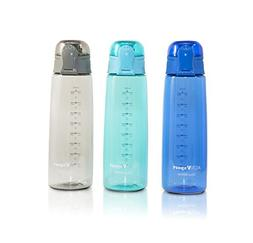 Sports Water Bottle 3-Pack Multi-Pack, 3 Colors - Eastman Tr