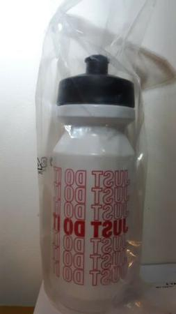 Nike Water Bottle Official Water Bottle Just Do it White Red
